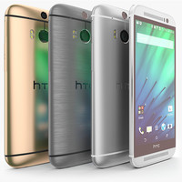 3d htc m8 colors model