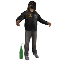urban guerrilla 3d model
