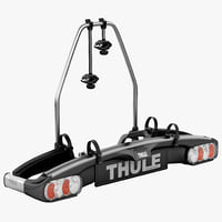 bike towball carrier thule 3d model