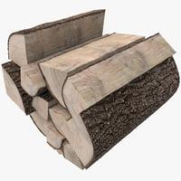 3d firewood 2
