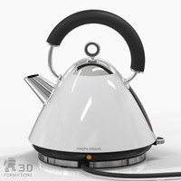 3d kettle kitchen model