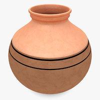 3d water pot 3