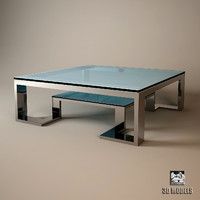 3d model eichholtz table coffee huntington
