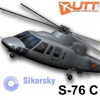 3d model sikorsky military spain