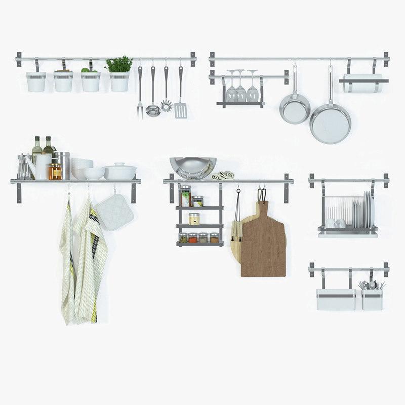 Ikea Variera Door Mounted Storage ~ IKEA Grundtal Kitchen Series