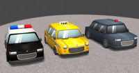 fbx cartoon cars