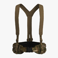 High Back BLAST Belt & Suspenders
