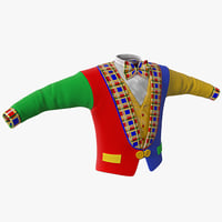 maya clown jacket