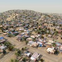 3ds max slum city