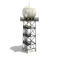 3d radar tower