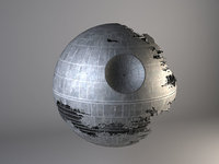 Star Wars Death Star Destroyed