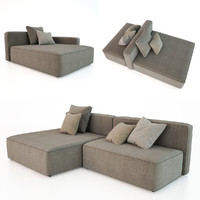 dandy roda sofa 3d model
