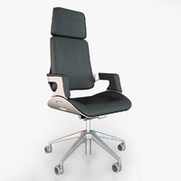 office chairs interstuhl silver 3d max