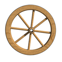 antique wagon wheel max