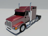 3d international 9400i truck semi