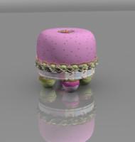 children stool fruit fruffet 3d fbx