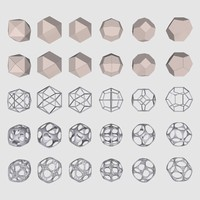 geometrical mc-02 shapes 3d max