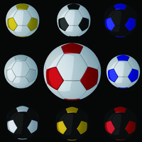 3d max soccer football