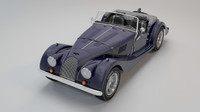 3ds max retro car morgan 4-4