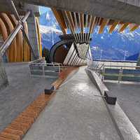 3d bobsleigh sliding center