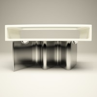 wave table 3d 3ds