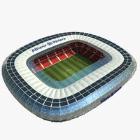 3d allianz riviera model