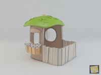 max toy house wood -