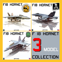 3d hornet navy f18