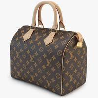 3d louis vuitton bag 01 model