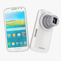 Samsung Galaxy K Zoom Smartphone Camera White