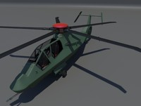 3d model rah-66 comanche helicopter
