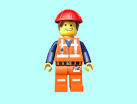 Emmet from Lego movie