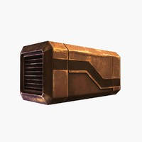 Sci-fi Container 4 (rusty)
