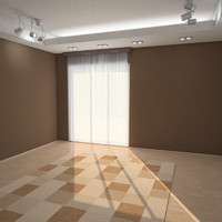 3dsmax interior scene room 2