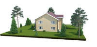 3d house home model