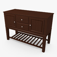 max wood sideboard table
