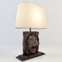 s head table lamp 3d obj