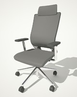 3d model modern office chair