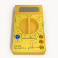 3d model multimeter blender cycles
