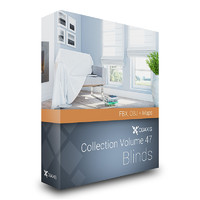 CGAxis Models Volume 47 Blinds FBX OBJ