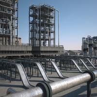 3d model refineries