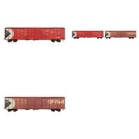 maya train cars