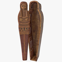 egyptian sarcophagus 2 3ds