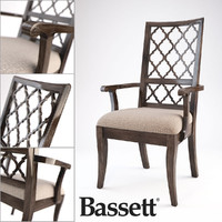bassett emporium arm chair 3d max
