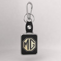 3d model realistic mg car keychain