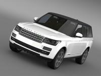 range rover autobiography hybrid 3d 3ds