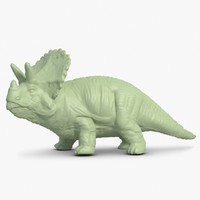 3ds max triceratops scan
