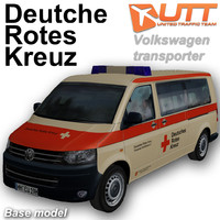 3d model volkswagen transporter