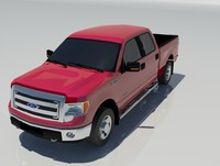 3ds max f-150 xlt ecoboost
