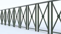 3d handrail street model